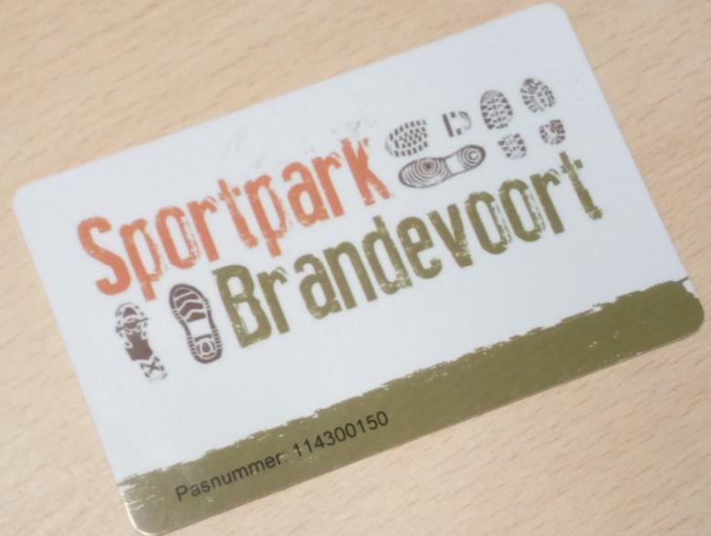Vanaf 1 maart 2018: de Sportpark Betaalpas